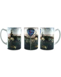 USS Midway at Sea Mug
