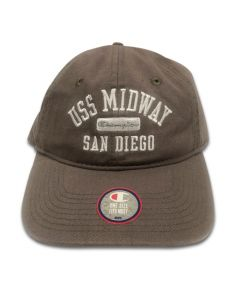 Champion Cap Twill Midway - Cool Grey