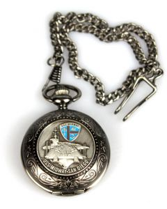 USS Midway Pocket Watch