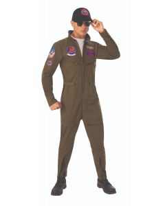 Adult Top Gun Flight Suit Costume