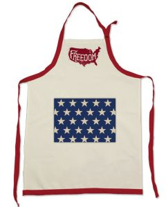 Patriotic Freedom Apron