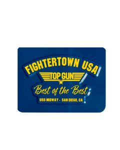 Fightertown USA Top Gun Magnet