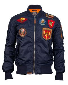 MA-1 Nylon Bomber Jacket by Top Gun
