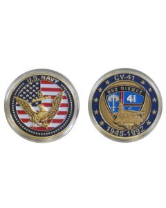 USS Midway Challenge Coin