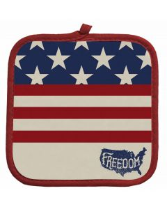Patriotic Freedom Potholder