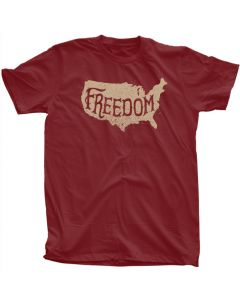 Adult Patriotic Freedom Tee