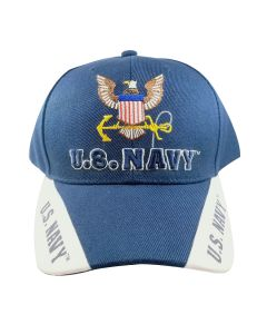 U.S. Navy Embroidered Cap