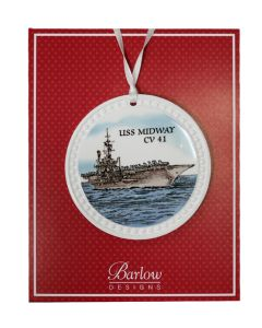 USS Midway Ornament