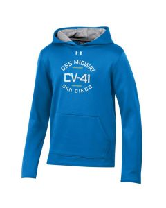 Youth USS Midway CV-41 Under Armour Fleece® Hoodie