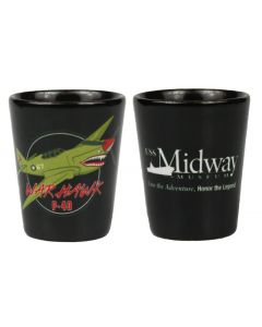 P-40 Warhawk Shot Glass