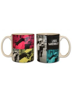 USS Midway ''The Kiss'' Mug