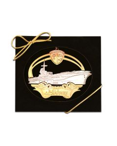 Collectible USS Midway Ornament