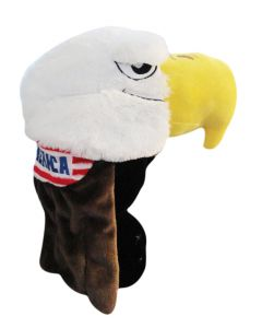 Bald Eagle 'Merica Plush Hat