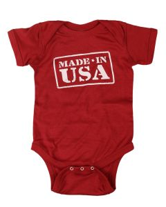"Infant ""Made in USA"" Onesie"