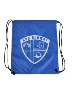 USS Midway Drawstring Backpack