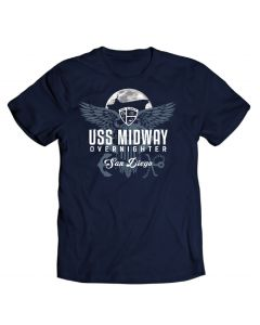 Youth USS Midway Overnight Tee
