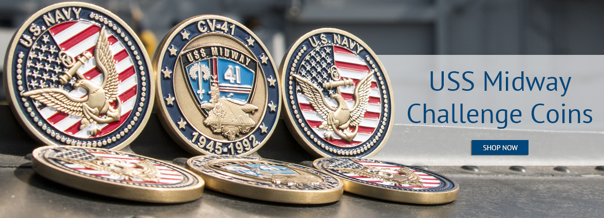 Shop USS Midway Challenge Coin